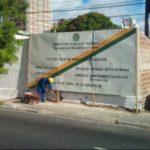 DURA LEX PARA OS OUTROS : MPF dá mau exemplo e descumpre escancaradamente lei municipal