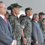 Prefeito participa de passagem de comando no 1º Grupamento
