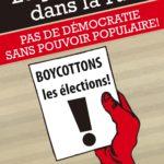 ROBERTBIBEAU EM :  CANADIENS, BOYCOTTONS LES ÉLECTIONS FÉDÉRALES !
