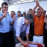 Governador autoriza início da PB-051, em Caldas Brandão e comemora a 23ª estrada deste ano
