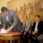 EITA GÔTA : Ricardo assina maior convênio da história do Ministério da Integração