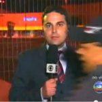 CALA A BOCA BATISTA : Homem atrapalha repórter e manda Globo 'calar a boca' em telejornal; veja vídeo