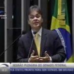 Em 1º discurso como senador, Cássio fala da trajetória, alfineta Santiago e comemora fim da novela jurídica