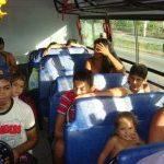 OH BEESSTEIRA : PRF flagra ônibus escolar da prefeitura de Gurinhém fazendo transporte para fins de turismo
