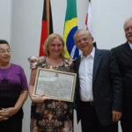 """Câmara entrega """"Titulo de Cidadã Pessoense"""" a Ariane Sá (veja fotos)"""