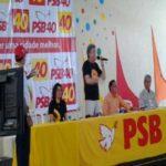 Ricardo critica Maranhão, enaltece Estelizabel e diz que Agra e Nonato cometeram erros e que só a candidata do PSB representa o projeto