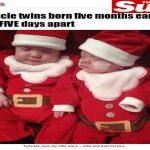 COMO PODE ? : Gêmeos  têm signos diferentes