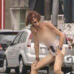 'Tirei a roupa porque quis', afirma mulher que fez strip-tease no litoral