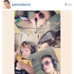 """Pamela Bório posta imagens do marido na piscina e diz: """"Pode fuçar a vontade… Afinal, o melhor da vida eu faço em off"""""""