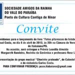 Arnaud Costa lançará novo livro no próximo sábado (6)