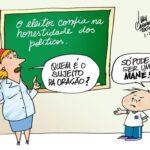 O BLOG TAMBÉM É CULTURA : Aulas de Gramatica