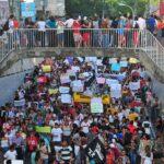 Protesto sem incidentes reúne mais de 3 mil manifestantes em João Pessoa