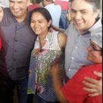 SONDANDO A VONTADE DO POVO : Aécio circula em Campina, grava programa do PSDB e insiste em Cássio candidato