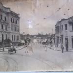 RUA DIOGO VELHO EM 1945 E PREDIO DOS CORREIOS E TELEGRAFOS