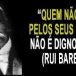 SÓ PRA RECORDAR : Os patos de Rui Barbosa