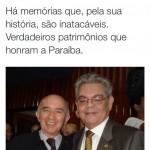 HÁ MEMORIAS QUE, PELA SUA HISTORIA SÃO INATACÁVEIS, VERDADEIROS PATRIMÔNIOS DA PARAIBA, DIZ VITALZINHO