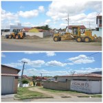 Prefeitura abre nova rua no centro de Ingá