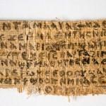 RAPAZ ! ACABA COM ISSO : Análises apontam que papiro que fala da esposa de Jesus não é falso