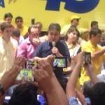 Emocionado Cássio sacramenta pré-candidatura a governador e lembra Ronaldo