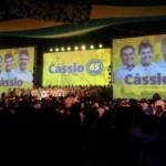 Na convenção do PSDB, Cássio promete reconciliar governo com povo