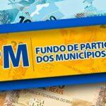 Municípios paraibanos recebem 26 milhões de FPM na próxima quinta.