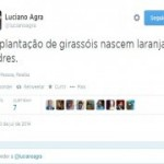 Luciano Agra diz que entre os 'girassóis só nascem laranjas podres'