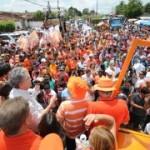 Ricardo visita feira de Mari e é recebido por prefeito em Sapé