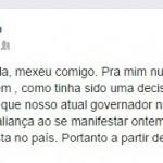 A CONVERSA É MAIS OU MENOS ASSIM :Esposa de presidente do PT/PB diz que votará nulo para governador após críticas de RC