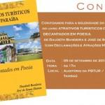 Livro de cordel que destaca belezas naturais da Paraíba é lançado nesta sexta-feira na PBTur