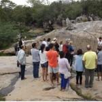 TURISTAS DE DIVERSOS ESTADOS DO BRASIL VISITARAM HOJE AS ITAQUATIARAS