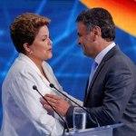 UM BRASIL  BEM DIVIDIDO : Dilma Rousseff vence em 15 estados, Aécio Neves em 12