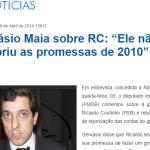 Após conversar com Cássio, Gervásio justifica apoio a Ricardo, mas libera eleitores