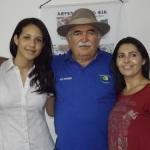FABIANA GOUVEIA, VICE PREFEITA DE SOLEDADE, VISITA AS ITAQUATIARAS
