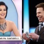 """Silvio Santos para Helen Ganzarolli: """"Tem gente achando que você é sapatona"""""""