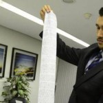 COMPARANDO A JUSTIÇA COM…:Preso envia pedido de liberdade ao STJ escrito em papel higiênico