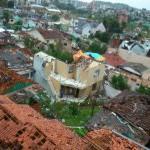 Tornado no oeste de Santa Catarina deixa dois mortos e 120 feridos