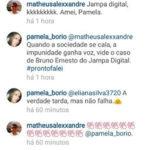 VOVÓ JA DIZIA ALGO QUE QUEM TINHA,TINHA MEDO : Pâmela depõe no caso Bruno Ernesto e não afirma insinuações