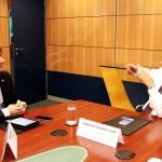 Pedro pede apoio a ministro para eventos da PB que estimulam geração de emprego e renda