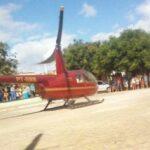 BRICADEIRINHA DE NOVO RICO : Piloto pousa helicóptero no 'meio da rua' para empresário bater papo com amigos