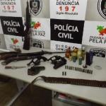 POLICIA CIVIL DE INGÁ APREENDE ARSENAL, NOTICIA EM CIMA DA HORA