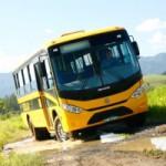 MPPB flagra ônibus escolar transportando pacientes