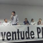 PRESIDENTE DO PMDB JOVEM IGNORA CRISE NO PARTIDO E ELOGIA MARANHÃO