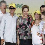 Governador Ricardo defende em discurso que Dilma fique até 2018