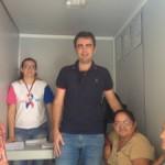 """Secretaria de Saúde de Ingá oferece mamografia em unidade móvel do """"Amigos do Peito"""""""
