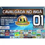 AMANHÃ, DIA 01/11, GRANDE CAVALGADA