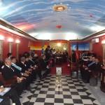 FESTA NA MAÇONARIA,LOJA ITACOATIARA 04 FAZ INICIAÇÃO E RECEBE CONVIDADOS (veja Fotos)