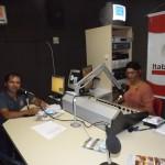 Conterrâneo e Artista mogeirense destaca aniversário da cidade em programa de rádio na capital