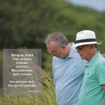 VICE PREFEITO DA CAPITAL NONATO BANDEIRA, HOMENAGEIA LUCIANO AGRA