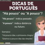O BLOG TAMBÉM É CULTURA  : Dicas de português