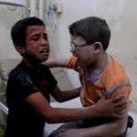 DE ARREPIAR A ALMA : Comovente momento em que dois meninos sírios ficam sabendo da morte do amiguinho